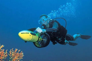 PADI Dive Propulsion Vehicle Specialty Course with Dive The World Thailand