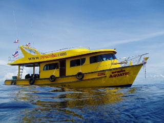 MV Aquatic, Phi Phi Scuba day boat