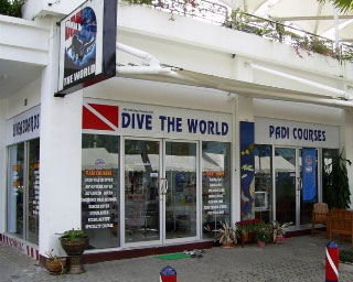 The Dive The World Thailand 5 Star Dive Centre at Patong Beach, Phuket, Thailand, c. 2010