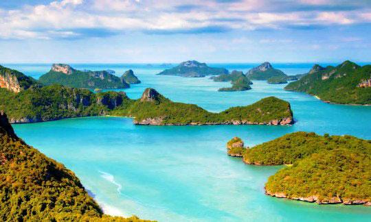 Samui island scuba diving resort daytrips dive the world thailand - Koh tao dive sites ...