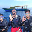 Divemasters conduct recreational diving activities in Koh Samui