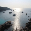 Sunset over Similan Island No. 8, Thailand