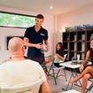 Classroom education time for the PADI Open Water Diver Course in Thailand