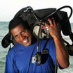 PADI Divemasters carry out the onerous tasks with a warm smile