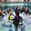 PADI instruction to Discover Scuba Diving participants in the pool in Phuket