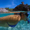 Snorkelling in Donald Duck Bay, Similan Islands