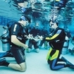 Pool session on the Discover Scuba Diving course with Dive The World Thailand