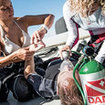 The PADI Rescue Diver course in Thailand - diving first aid