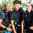 Make new friends on the PADI Rescue Diver course in Phuket