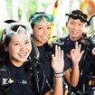 Make new friends during your Thai diving course