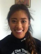 Sara Wu during her PADI diving course in Phuket