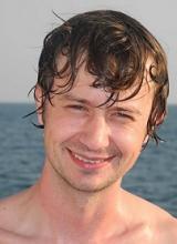 Zack J. Berman during his PADI diving course in Phuket