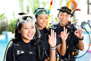 PADI Kurse mit Dive The World Thailand