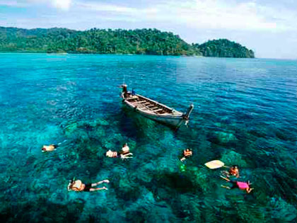 Click here for tourist information about Khao Lak, the natural retreat springboard for the Similan Islands