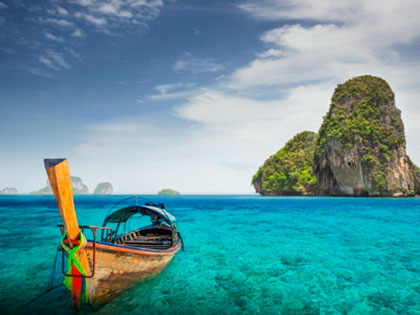 Click here for tourist information about Krabi. Stunning scenery, Railay and Ao Nang Beaches and more