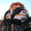 Giant scorpion statue at Wat Phra That Wai Dao, Mae Sai
