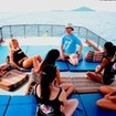 A PADI Open Water dive briefing in the Andaman Sea